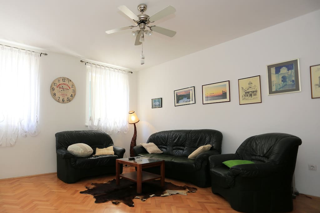 Living room - with sofa bed for one person