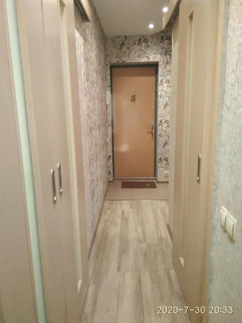 Comfortable apartment in the center of Minsk.