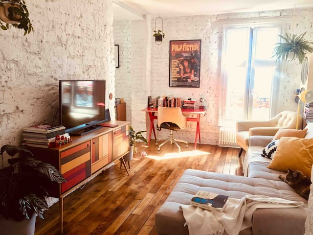 Charming and cozy flat at La Villette