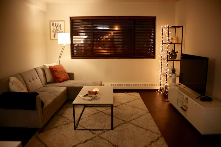 Luxurious and Comfy Apt close to the Train Station