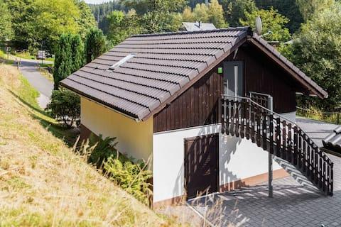 Apartament idilic în Goldisthal Turingia cu pădure