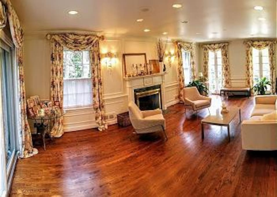 Original hardwood floors throughout the home.