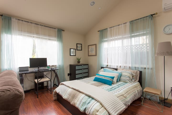 Beautiful Studio in Quiet Los Gatos - Los Gatos - Huis