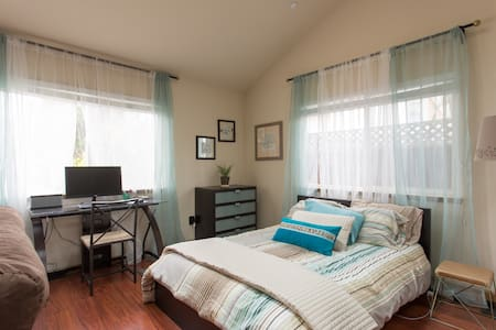 Beautiful Studio in Quiet Los Gatos - Los Gatos - Casa