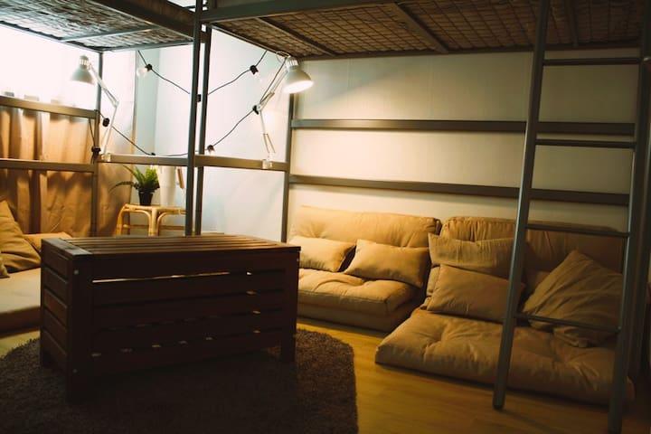 Sam&Home/Whole house/2room/5min_itaewon station