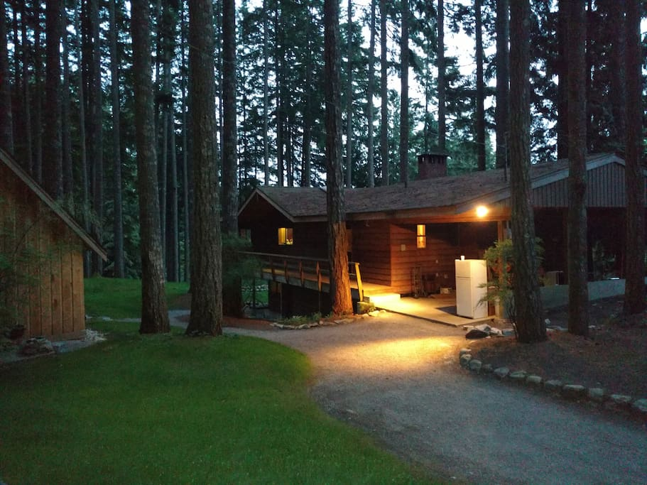 Entry to Main Lodge