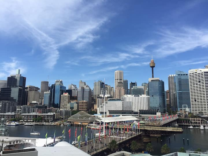 Sydney  Darling Harbour Sydney Views