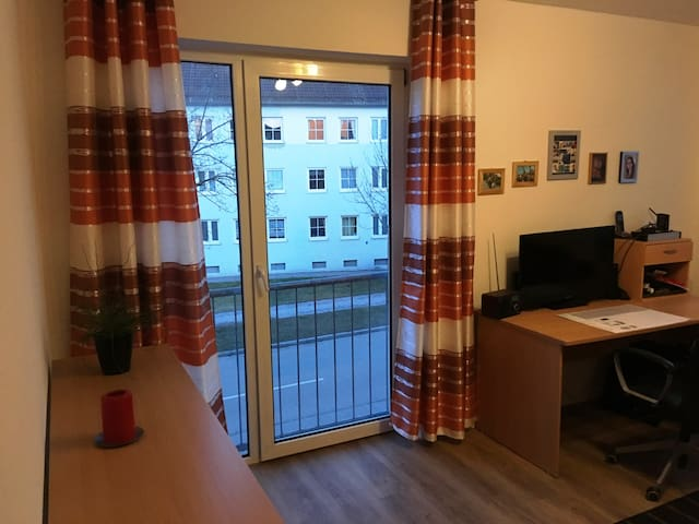 nice two-room flat in the east of Regensburg