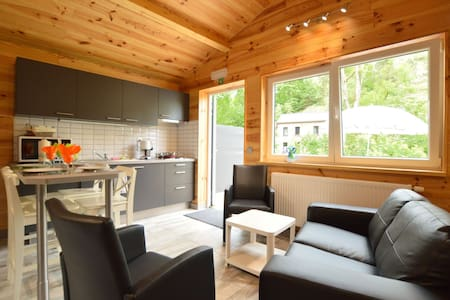 Magnificent Chalet in Ferrières Ardenne with Private Terrace