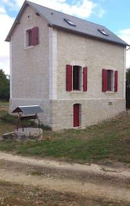Typique maison garde-barrière - Sainte-Solange