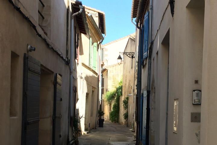 Jolie maison dans une rue calme et tranquille