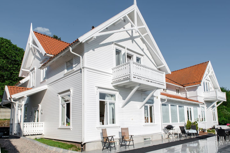 Nydelig villa like ved Brekkeparken i Skien sentrum