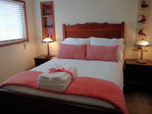 Bedroom #2 double bed