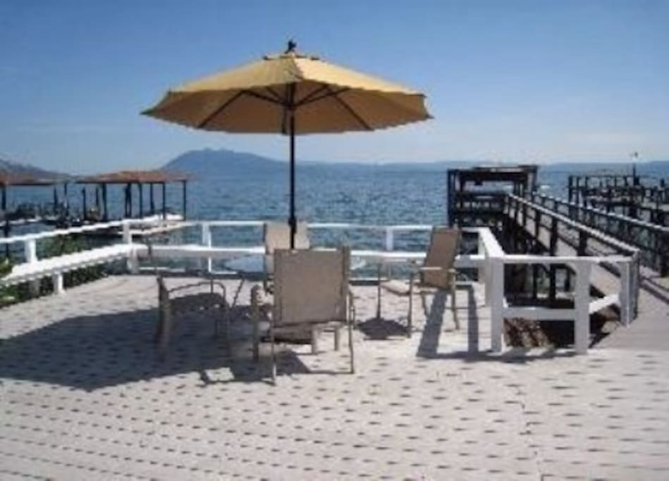 Deck with Lakeview