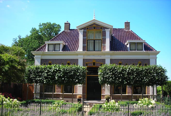 Prachtig Landhuis bij Giethoorn - Ruinerwold - วิลล่า