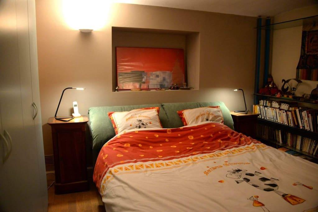 votre chambre très confortable