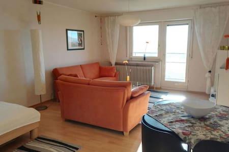 Schöne kleine Wohnung in Heimsheim - Heimsheim - 公寓