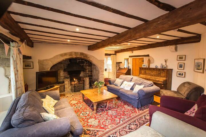 Hill House Farm - a cosy farmhouse near Bath