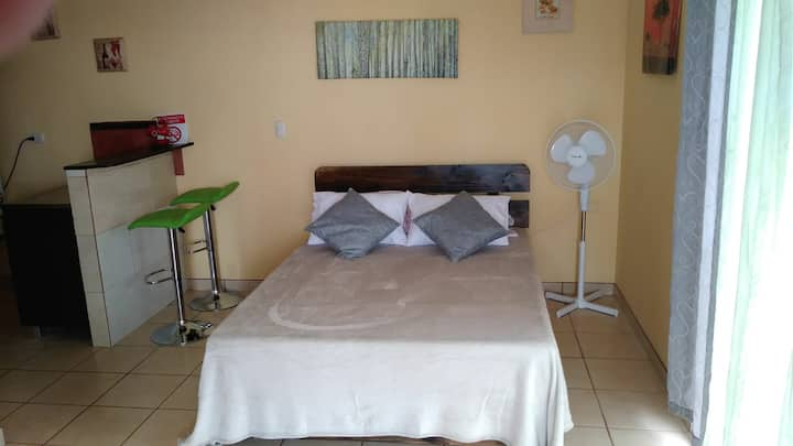 Breezy Private studio. 10 mins away from airport
