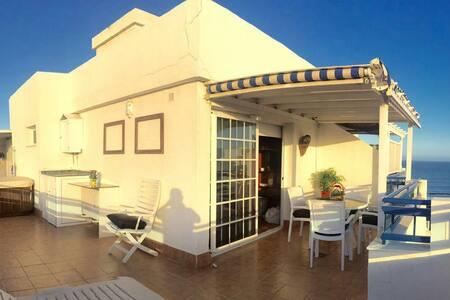 Ático Marazul, vistas Playa y Plaza
