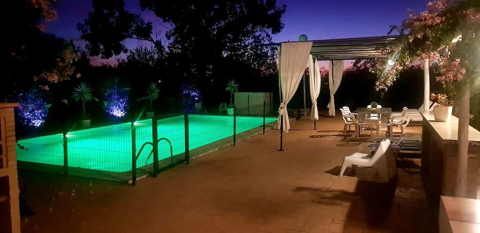 Villa Mirador del Sol a 30 min de Sevilla y Playas