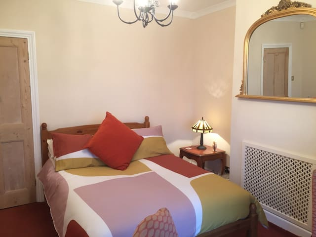 Comfortable double room with sea views