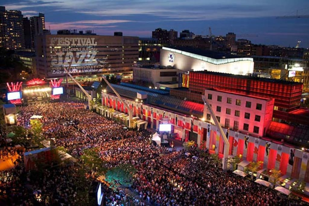 DO NOT MISS THE JAZZ FESTIVAL OF MONTREAL FROM JUNE 28 TO JULY 7