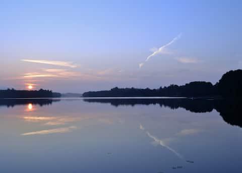 Holliday Villa Magdalena on lake Margis, Trakai