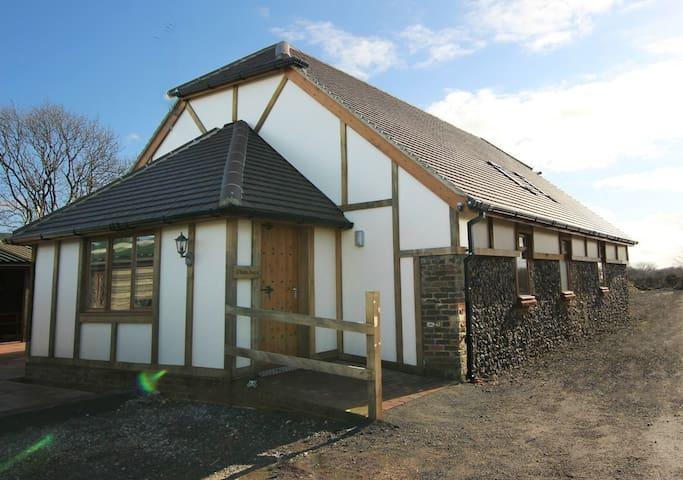 Flint Barn front entrance