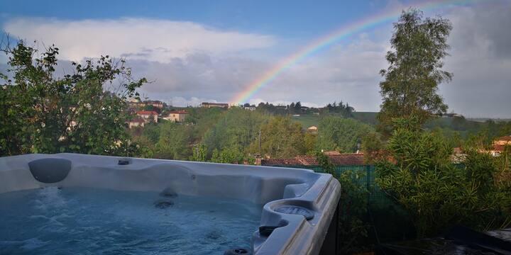 Grande Maison avec piscine -jaccuzzi