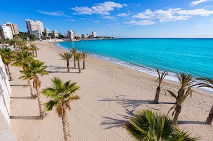 Habitación privada a dos pasos de playa San Juan