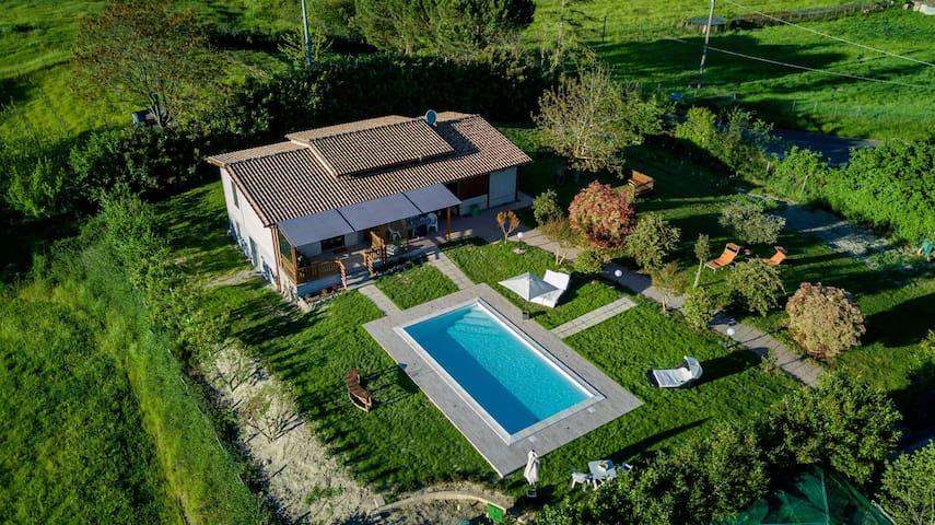 Villa with private pool, 5 min. from Lake Bolsena