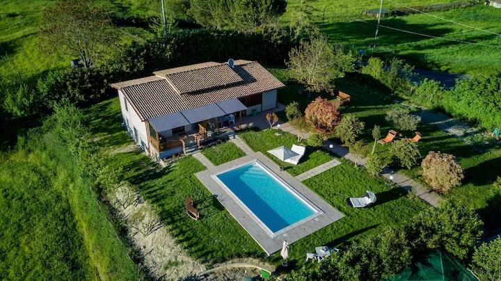Villa with private pool, 5 min. from Lake Bolsena