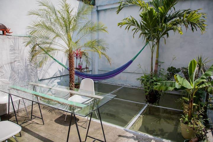 Sunny Terrace, heart of Condesa! - Ciudad de México - House