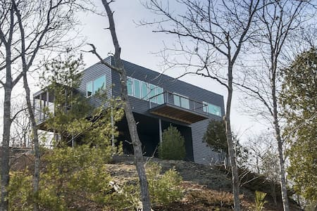 Modern with Views from Every Room! - Phippsburg
