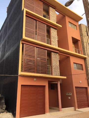 New, spacious & secured apartment located in Ngor