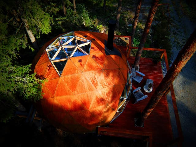 Treehouse Dome close to Oslo