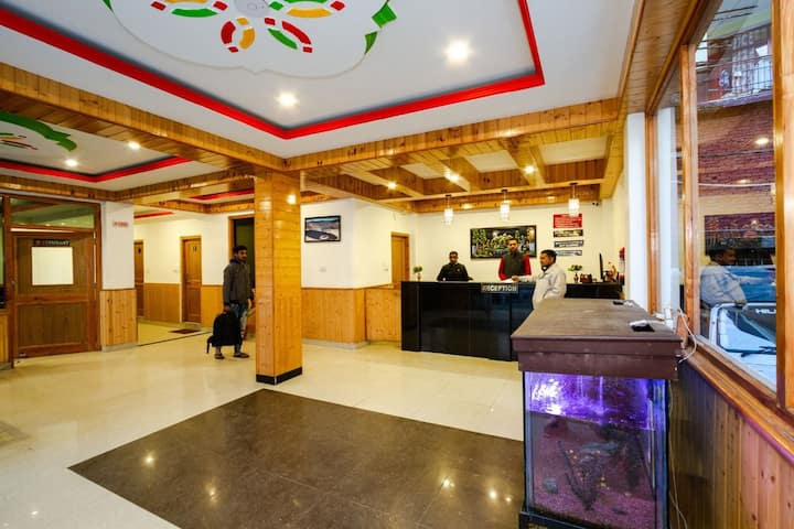 Hotel manali crown the mall manali