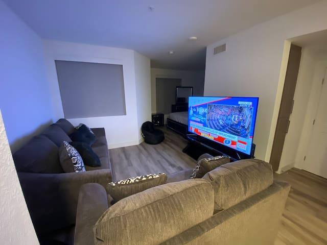 Spacious One bedroom studio