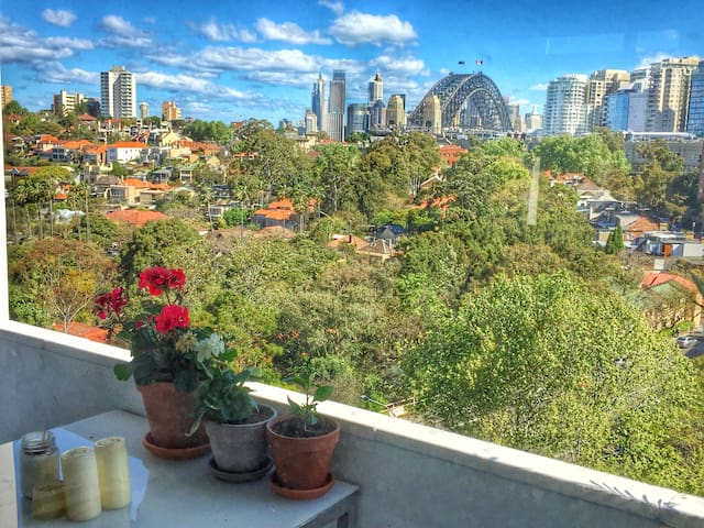 Perfect Holiday Spot with harbour view! - North Sydney - Apartamento