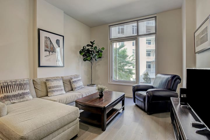 Luxury 1-bed by Hermann Park, Museum District