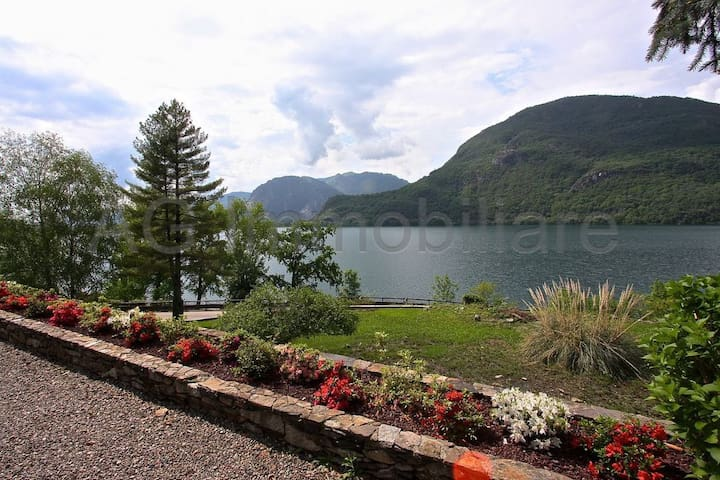 """Facing """"Mont Orfano"""", along which run numerous trails for hiking. You are also a 15 minute drive from Stresa and Verbania on Lago Maggiore."""