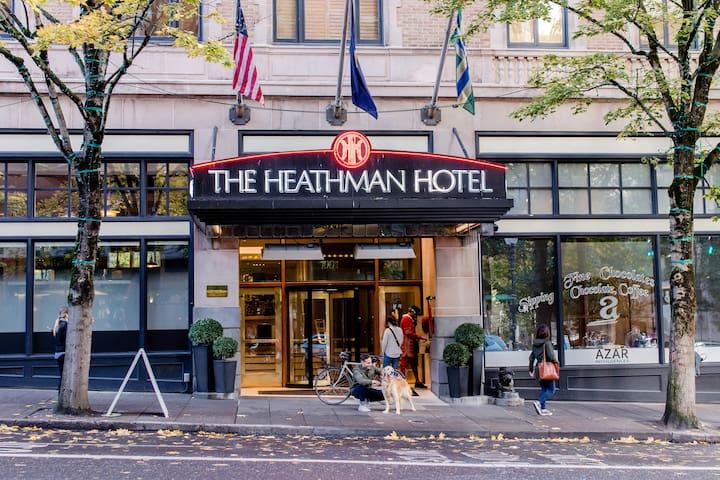 Heathman Hotel, Deluxe Queen