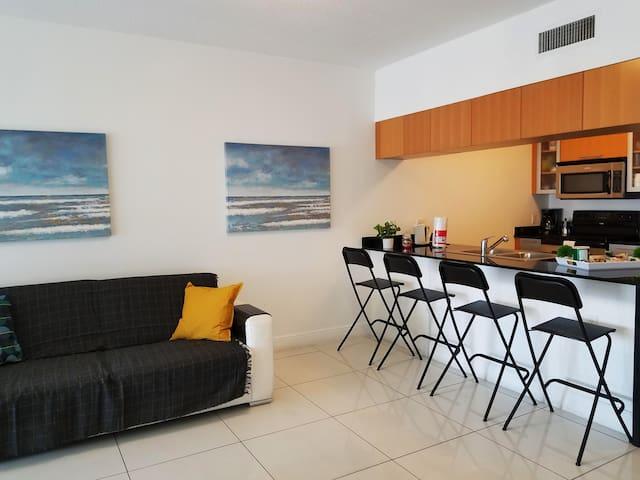 Apartamento de Lujo en el Bayshore de Miami