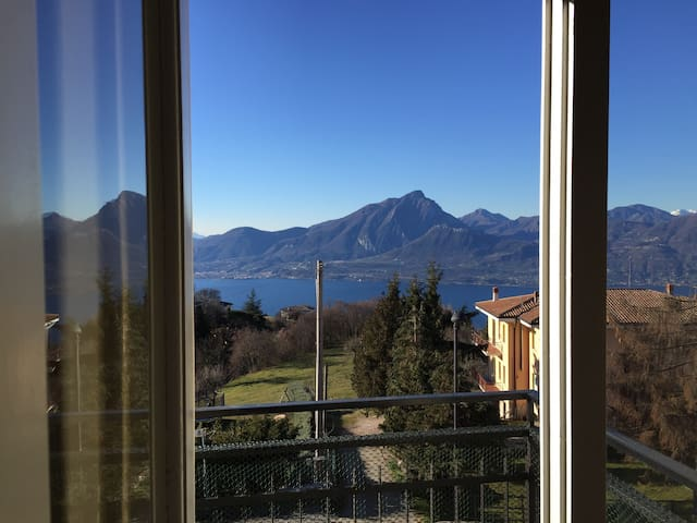 BaldoRomance, balcony on Lake Garda - San Zeno - Apartament
