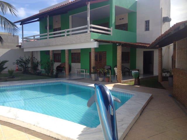 Casa de Praia no Francês, ótima para famílias - Marechal Deodoro - Casa