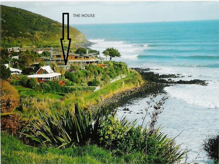 Location of the house at whale bay