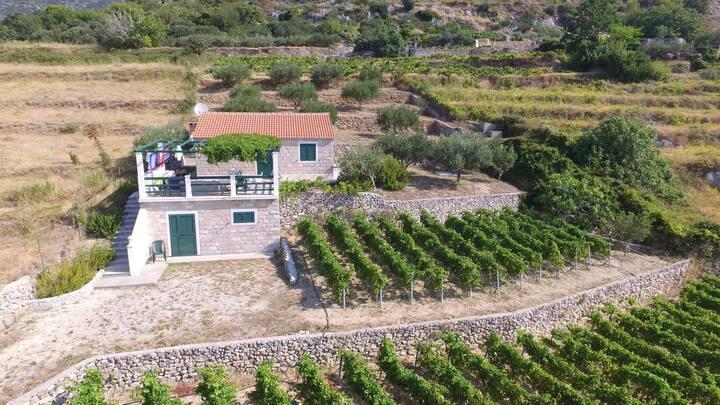 Casa con due camere da letto, a Bol - isola di Brac