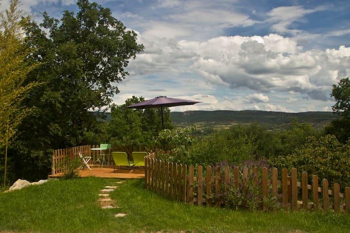 Gîte 4 personnes sud Ardèche, à Lanas