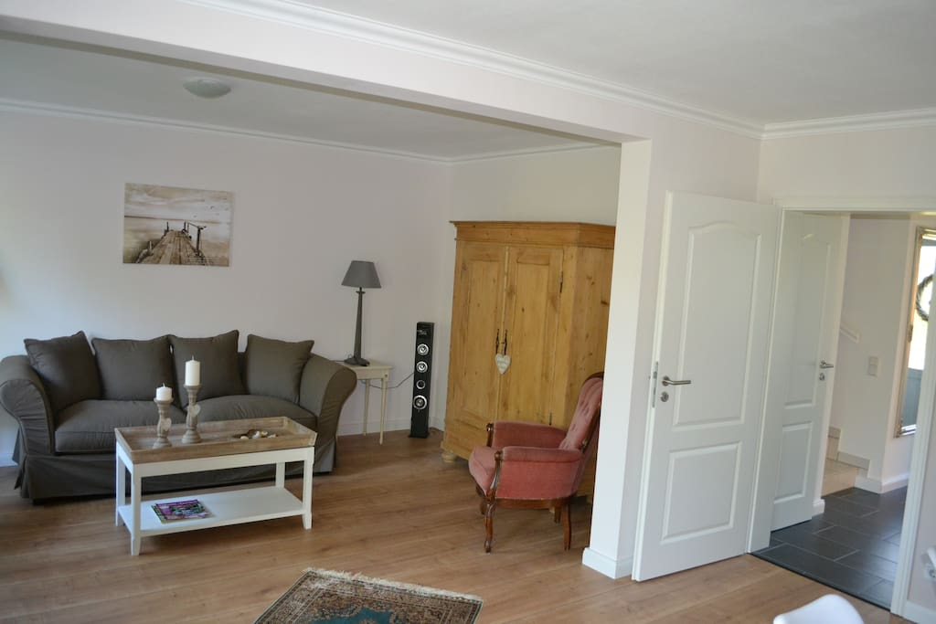 Eingang ins Wohnzimmer